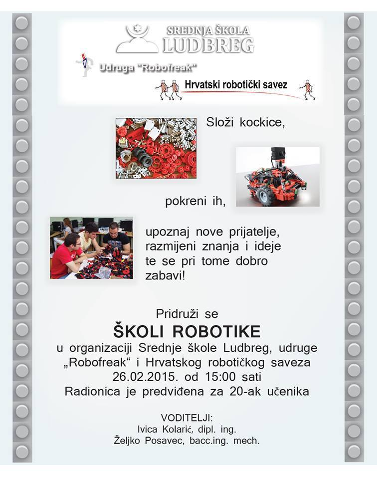 Radionica robotike u Ludbregu