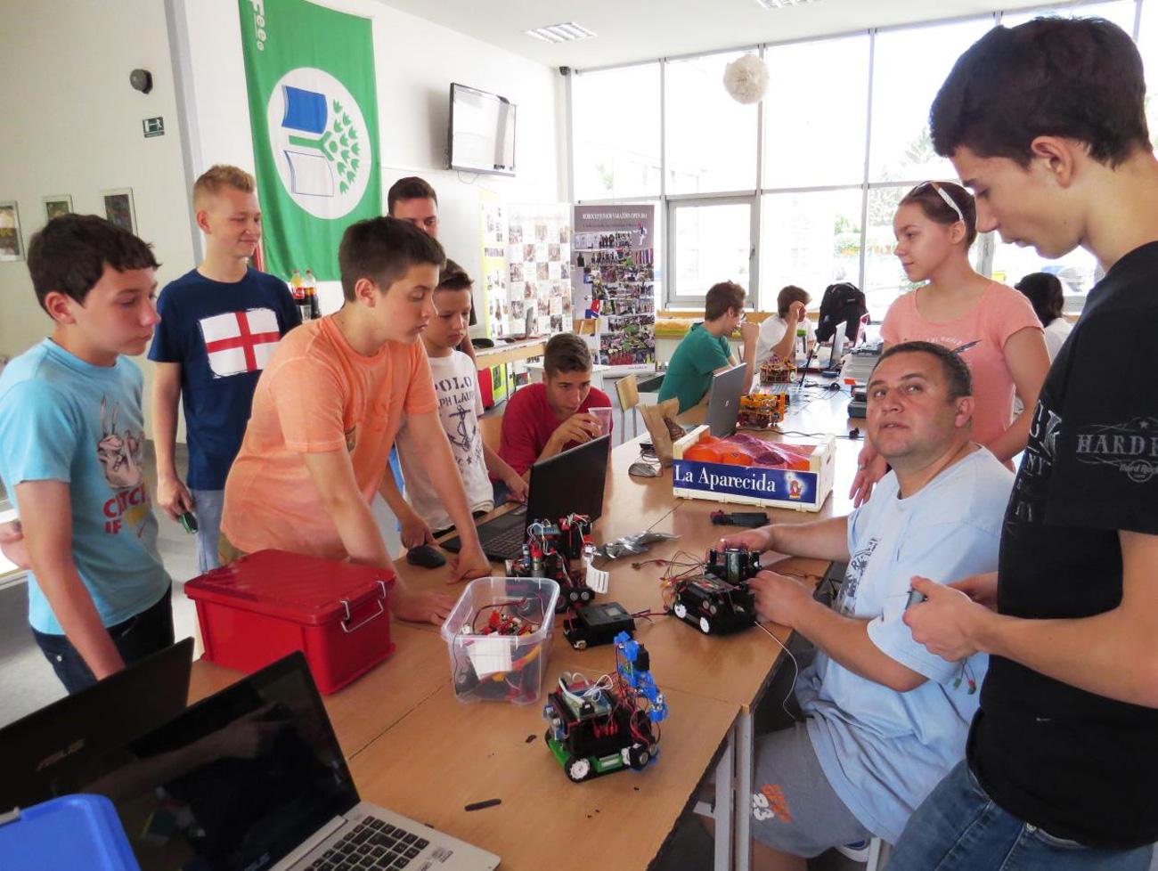 Otvorene škole robotike Varaždin 2015