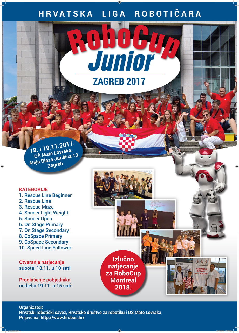 RoboCup Junior Zagreb 2017