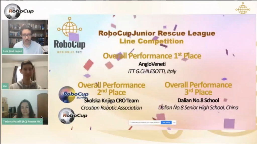 Rescue Line - 2nd place